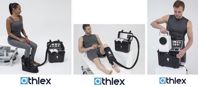 Athlex créé Physiolab : l'alliance de la cryothérapie et de la compression contre la douleur