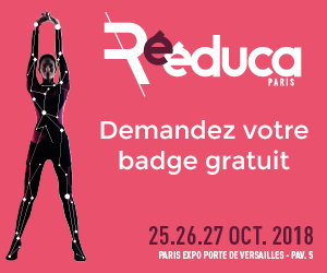 badge gratuit Salon Rééduca