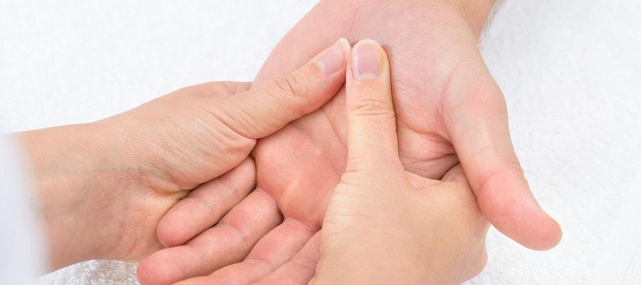 kinesitherapie oedeme de la main