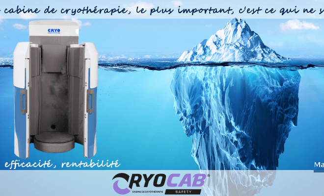 CRYO MANUFACTURING, leader français des cabines individuelles de cryothérapie