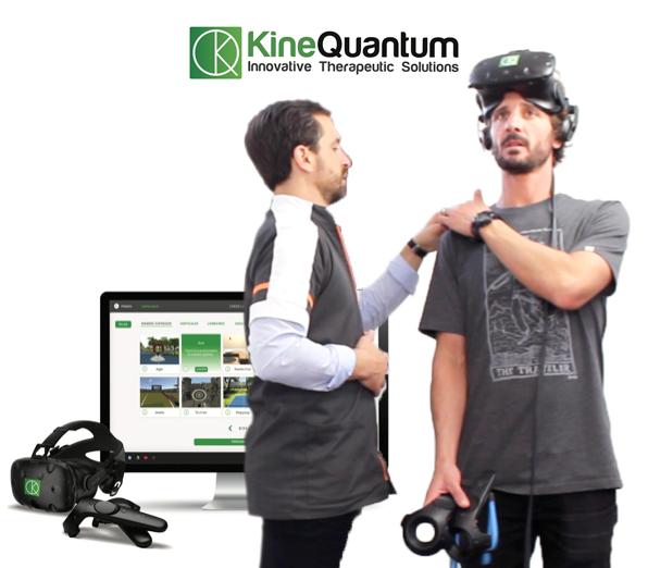 Rééduquez l'épaule opérée et non opérée en réalité virtuelle